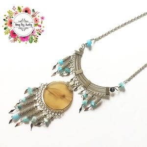Jewelry - Stone necklace for women Anniversary gift for her